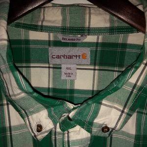 Men's Carhartt, button up, Sz 4XL